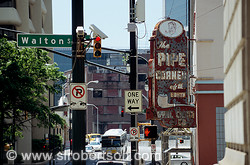 Walton Street Pipe Corner, Downtown Atlanta 1