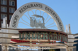 Entrance to Underground Atlanta 1