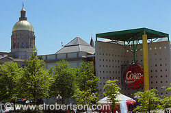 World of Coca Cola Museum and Capitol Dome, Atlanta
