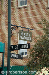 City Market Sign, Savannah