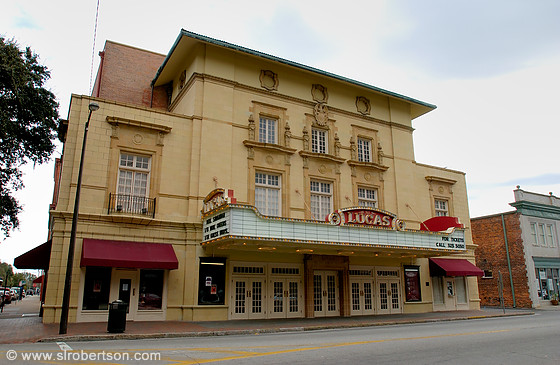 Front facade of Lucas Theater, Savannah
