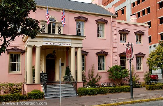 Pink House Restaurant Savannah