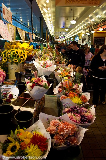 Pike Place Flowers 1