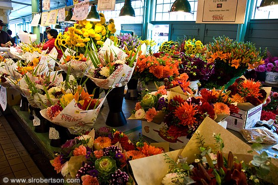 Pike Place Flowers 2