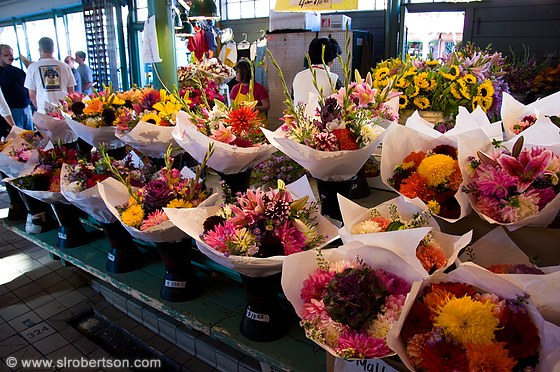 Pike Place Flowers 3