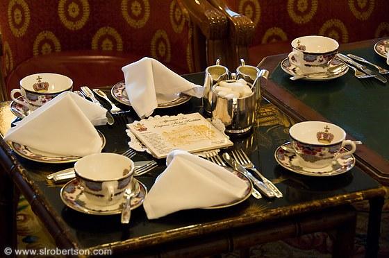 Empress Tea Room Victoria Menu